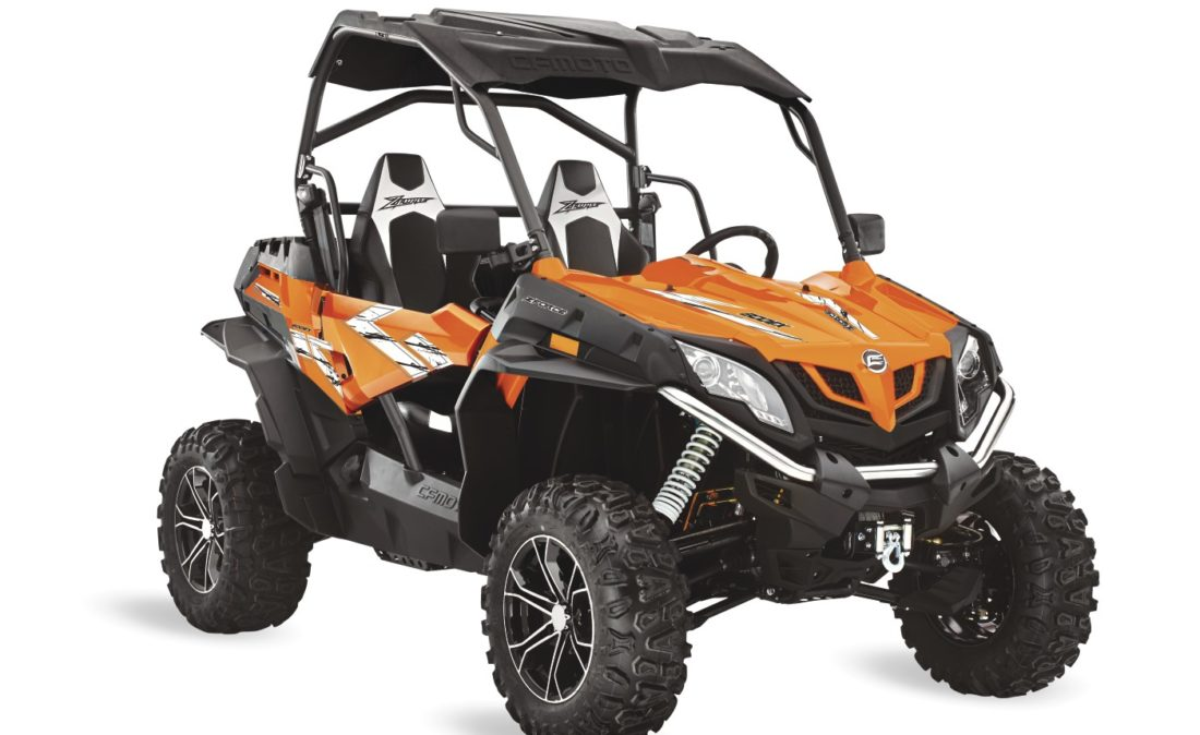 ZForce 800 EX Orange 3Q Right 2019